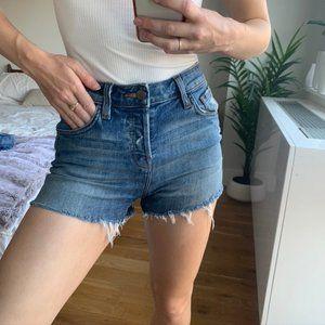J Brand High Waist Cut Off Shorts